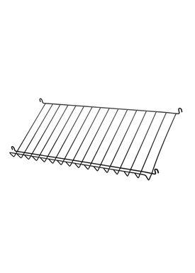 String - Tidningshållare - Wire Magazine Shelf - Black