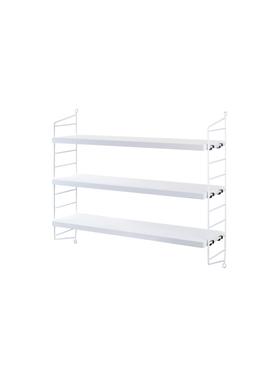 String - Display - String Pocket - white