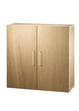 String - Skab - Filing Cabinet - Oak
