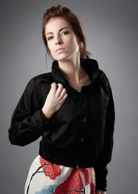 Tina Casmose - Jacket - Vitale - Black
