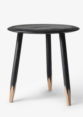 &tradition - Table - Hoof Table / SW1 / SW2 - Black stained oak / SW1
