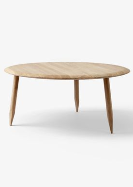 &tradition - Table - Hoof Table / SW1 / SW2 - White oiled oak / SW2
