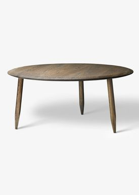 &tradition - Table - Hoof Table / SW1 / SW2 - Smoked oiled oak / SW2