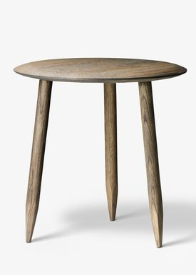 &tradition - Table - Hoof Table / SW1 / SW2 - Smoked oiled oak / SW1