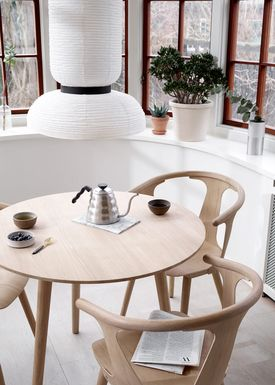 &tradition - Table - In Between Table - White oiled oak