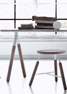 &tradition - Table - Table- NA2 - White laminate
