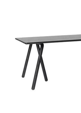 &tradition - Table - Table- NA2 - Black ash veneer