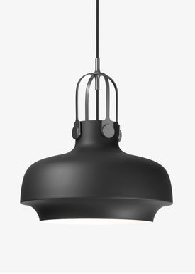 &tradition - Lamp - Copenhagen Pendant - SC6 / SC7 / SC8 - Matt Black - Medium - SC7