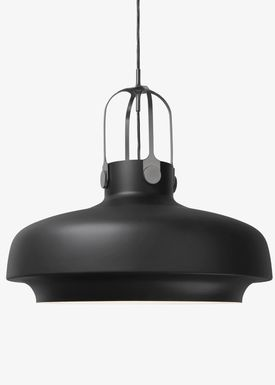 &tradition - Lamp - Copenhagen Pendant - SC6 / SC7 / SC8 - Matt Black - Large - SC8