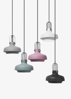 &tradition - Lamp - Copenhagen Pendant - SC6 / SC7 / SC8 - Matt Black - Small - SC6