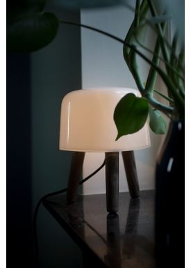 &tradition - Lamp - Milk Table Lamp - NA1 - ash/white