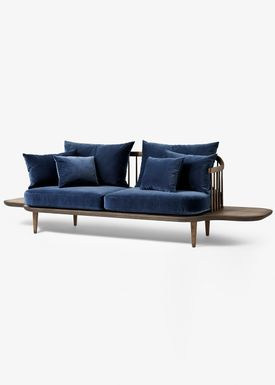 &tradition - Couch - Fly Sofa / SC2 / SC3 / SC12 - Smoked oiled oak with harald 2 / SC3