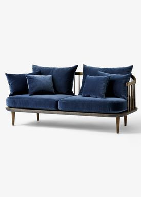 &tradition - Couch - Fly Sofa / SC2 / SC3 / SC12 - Smoked oiled oak with harald 2 / SC2