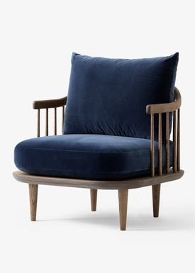 &tradition - Chair - Fly Chair / SC1 / SC10 - Smoked oiled oak with harald 2 / SC10