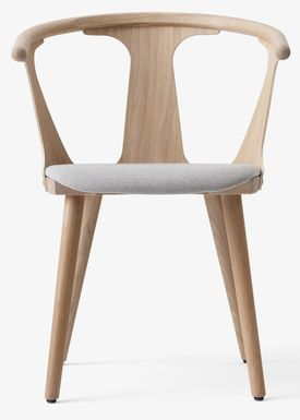 &tradition - Chair - In Between Chair / SK1 / SK2 - White oiled oak with Fiord 251 / SK2