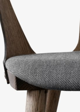 &tradition - Chair - In Between Chair / SK1 / SK2 - Smoked oiled oak with Fiord 171 / SK2