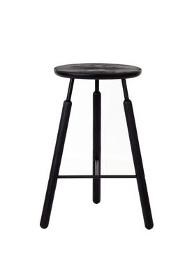 &tradition - Chair - Stool - NA3- Black stained oak