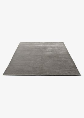 &tradition - Blanket - The Moor Rug - Grey moss / AP7