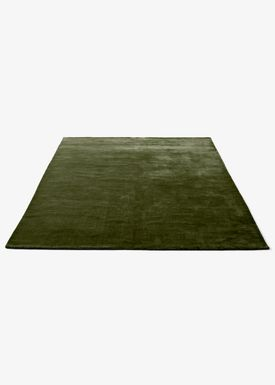 &tradition - Blanket - The Moor Rug - Green Pine / AP7