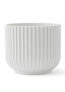 - Flowerpot - Flower Pot - White Medium