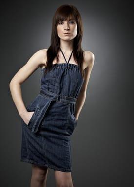 Vadum - Dress - Nete - Blue