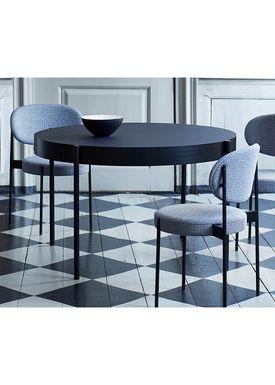 Verpan - Table - 430 Table by Verner Panton - Black Linoleum