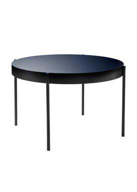 Verpan - Table - 430 Table by Verner Panton - Blue Linoleum