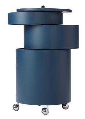 Verpan - Table - BarBoy by Verner Panton - Blue