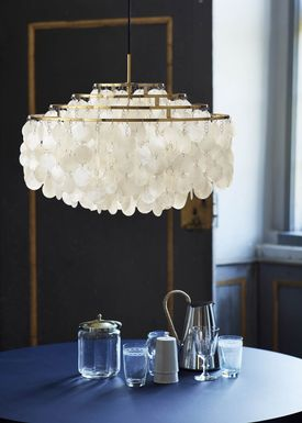 Verpan - Lamp - FUN 10DM - Brass - Jubilæumsmodel - Brass Ø57
