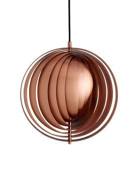 Verpan - Lamp - Moon Pendant by Verner Panton - Copper - Small