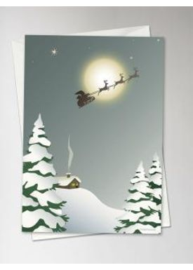 ViSSEVASSE - Cards - Santa - Card - Santa