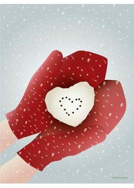 ViSSEVASSE - Cards - Snow Heart - Snow Heart