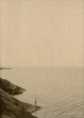 ViSSEVASSE - Poster - Dan Isaac Wallin - Amundön III - Amundön III