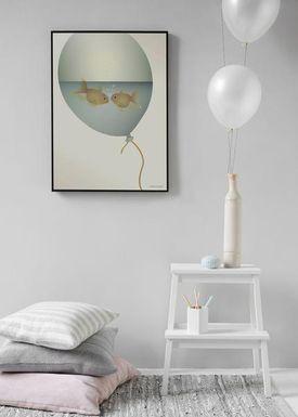 ViSSEVASSE - Poster - love in a bubble - love in a bubble