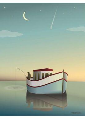 ViSSEVASSE - Poster - The Fisherman - Fiskeren