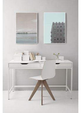 ViSSEVASSE - Frames - Rammer - White Alu 70x100