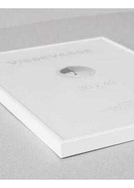 ViSSEVASSE - Frames - Rammer - White Alu 50x70