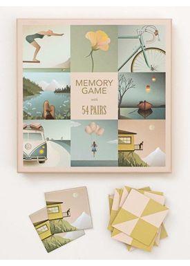 ViSSEVASSE - Games - Memory - 2 x 54 brikker
