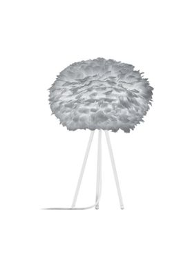 Vita Copenhagen - Lamp - Eos Feather lamp - White Tablestand with Fabric Wire