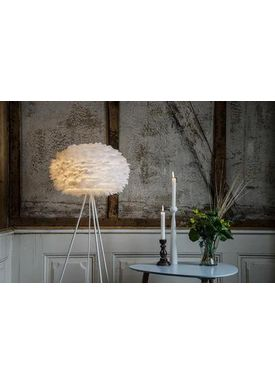 Vita Copenhagen - Lampshade - Eos Feather lamp - White Large