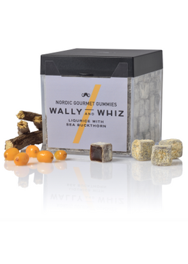 Wally and Whiz - Winegum - Gourmet Winegum - Liqurice/Sea buckthorn