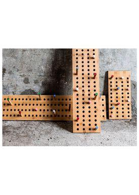 WeDoWood - Knager - Scoreboard knagerække - Stor Vatical - Bambus