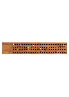 WeDoWood - Knager - Scoreboard knagerække - Stor Horizontal - Bambus