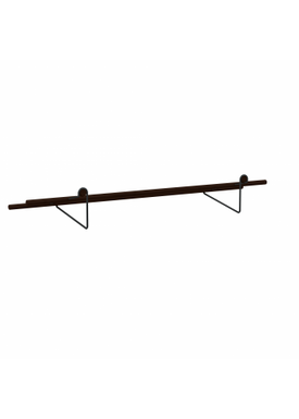 WeDoWood - Shoe Rack - Shoe Rack - Black Steel / Black Bamboo