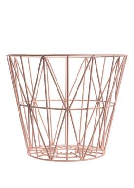 Ferm Living - Basket - Wire Basket - Large - Rose