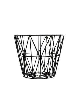 Ferm Living - Basket - Wire Basket - Small - Black