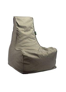 X-POUF - Bean Bag - X-CHAIR Pu Coated - Green