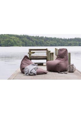 X-POUF - Bean Bag - X Chair PVB - Dark Grey
