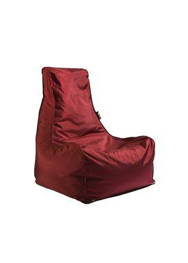 X-POUF - Bean Bag - X Chair PVB - Bordeaux