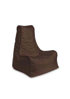 X-POUF - Bean Bag - X Chair PVB - Brown